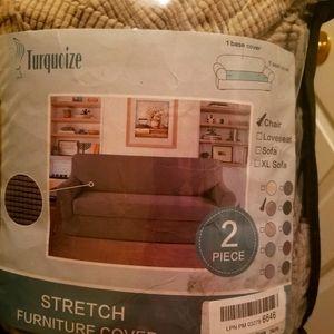 Stretch furniture sofa cover 2 pieces